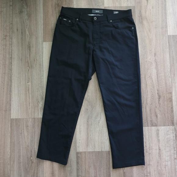 BRAX Cooper Regular Fit Pants Black 36 × 28